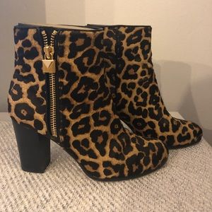 Michael Kors Cheetah Booties